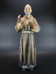 Pater Pio Holy Figure 40 CM Poly Figurine Religion Decorative Articles