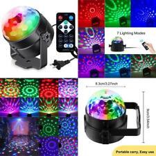Luces de fiesta activadas por sonido con mando a distancia Dj, bola de discoteca