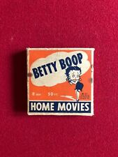 1931, BETTY BOOP, (8MM) HOME MOVIES (Scarce)