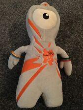 London 2012 Olympics Mascot Plush Toy Teddy Wenlock Cuddly Toy Rings Games