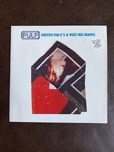 "Pulp Sorted For E's & Wizz/Mis-Shapes Blue Vinyl 7"" MINT"
