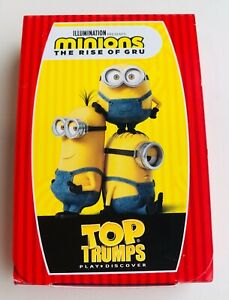 NEW MINIONS THE RISE OF GRU TOP TRUMPS 2021 MCDONALDS HAPPY MEAL CARD GAME TOY
