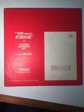 IBM Presents Scrooge TelEd S-1001 Childrens Vinyl LP Record ONE-SIDED