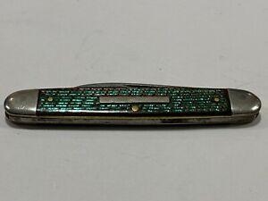 Vintage H.BOKER & CO Senator Equal End Pen Knife with Colour Changing Scales