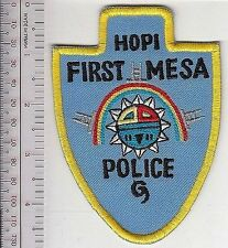 American Indian Tribe Police Arizona Hopi First Mesa Police Department, AZ