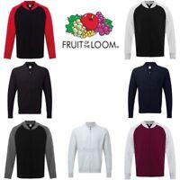 Fruit of the Loom Baseball Sweatshirt Jacket