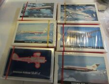 Vintage TWA Playing Cards Collection Series douglas dc-3 boeing 707