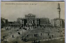 Turkey Istanbul - Miltary Office old real photo postcard
