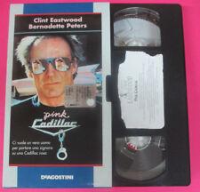 film VHS cartonata PINK CADILLAC Clint Eastwood 1999 DE AGOSTINI (F113)no dvd