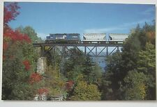 Consolidated Rail Corporation GP40-2 #3283 ~ Railroad Train Postcard