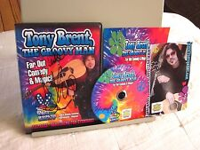 TONY BRENT autograph Comedy & Magic instructional DVD Groovy Man
