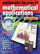 Mathematics for Year 12 Mathematical Applications Book&CD Bruce Haese Like new