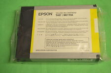 Epson T487 PRO 5500 Yellow ORIGINAL Dated 2004 - Sealed in Bag - No Box