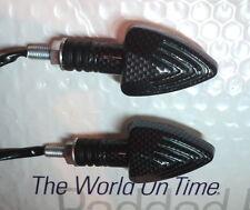 2x indicadores LED de señal de vuelta de Tiburón De Carbono girela gp800, Fuoco 500, Nexus 500, Ts