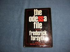 THE ODESSA FILE by Frederick Forsyth/1st ed/HCDJ/Literature/Thriller/Mystery