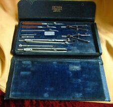 VINTAGE DIETZGEN COMMANDER DRAWING INSTRUMENTS IN CASE