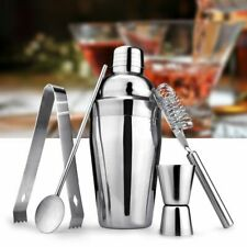 Bar Cocktail Shaker Set Kit Tools Mixer Drink Bartender Martini Stainless Steel