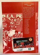 Manchester United Phone Card 1996 Intercard 1992/1993 Premier League Winners