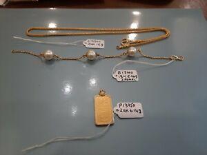 Gold Jewellery in 22 Karat to 10 Karat selection. Estate jewelry