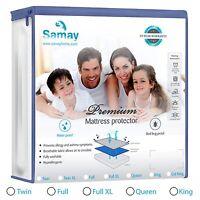 Mattress Cover Hypoallergenic Waterproof Mattress Cover Premium Samay All Sizes