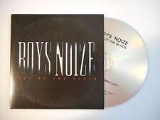 BOYS NOIZE : OUT OF THE BLACK - WHAT YOU WANT [ CD ALBUM PROMO PORT GRATUIT ]