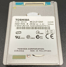"""Toshiba 1.8"""" CE HARD DISK DRIVE MK2431GAH 240GB HDD1905"""
