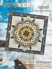 Summer Solstice Foundation Paper Piecing Judy Niemeyer Quilt Pattern