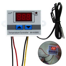 220V 10A Digital Thermostat Control Switch Temperature Controller LED+Probe New