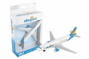 Daron Allegiant Airlines Single Die-Cast Collectible Plane
