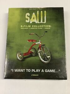 Saw 8-Film Collection (Blu-ray / DVD, 2018)