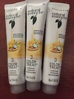 3 Clairol Natural Instincts Color Treat Once a Week Conditioner Coconut & Aloe