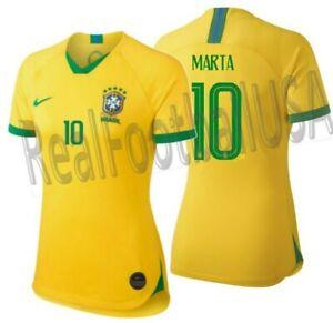 NIKE MARTA BRAZIL HOME WOMEN'S JERSEY WORLD CUP 2019