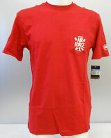 NIKE HERREN T-SHIRT mod. HAZE AIR FORCE 1 div. GR/ RED OCCASION-STORE (SB)
