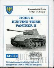 1/35 Friulmodel ATL-21 Tiger II Hunting Tiger Panther II Friul Metal Tracks