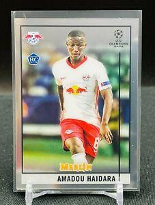 2020-21 Topps Chrome UEFA Merlin RC Amadou Haidara BASE