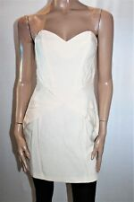 Sportsgirl Designer Champagne Strapless Dress Size 10 BNWT #TL66