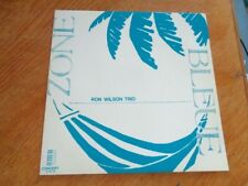 Ron Wilson Trio – Zone Bleue lp