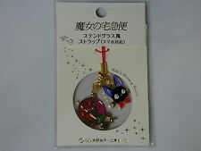 New!! Jiji stained glass style strap for smart phone / Studio Ghibli