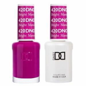 DND Daisy Soak Off Gel-Polish Duo .5oz LED/UV Matching Color (#400 - #600)