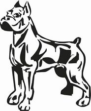 PIT BULL STANDING CUSTOM NAMES ADDED FREE CAR DECAL STICKER