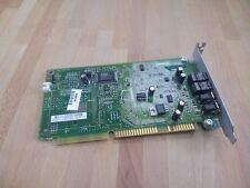 Tarjeta de sonido ISA Compaq 332859-001 009666-001 ES1868 Audio  4x 3,5mm