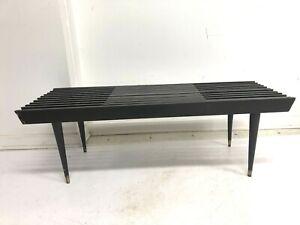 George Nelson SLAT BENCH mid century modern retro vintage coffee table expanding