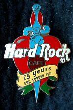 HRC hard rock cafe Online 25 years HRC Dagger through Heart r sign