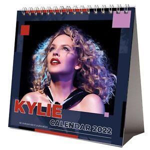 Kylie Minogue 2022 Desktop Calendar NEW Desk 12 Months