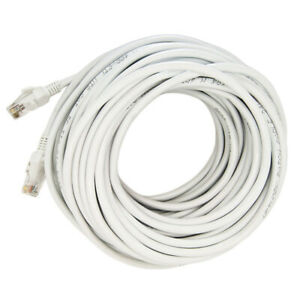 US 100F Cat 5E Ethernet Cable Network Internet Wire RJ45 Lan 30 M Meter 100Ft