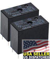 (2pcs) Omron (G5Q-14-DC12) Relays Power PCB Relay Sealed SPDT 12VDC