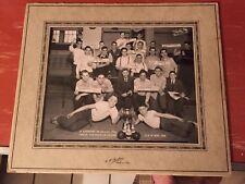 1946 Lachine,Quebec Bowling Champs Original Picture Photograph CA Barbier 8x10