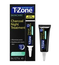 T-Zone Charcoal Night Treatment: Pore Purifying/Minimising with AHA, No Parabens
