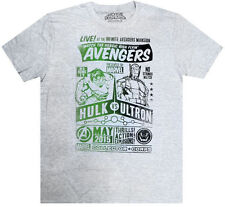 EXCLUSIVE Hulk vs Ultron Avengers T Shirt L. MARVEL Collector Corps Infinity war