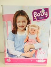 Interactive Singing Warm baby Born Girl Doll( 43cm) PlayToy with Accessories